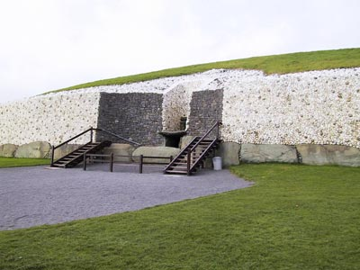 Entrance at Newgrange