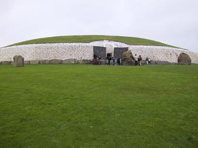 Monument at Newgrange