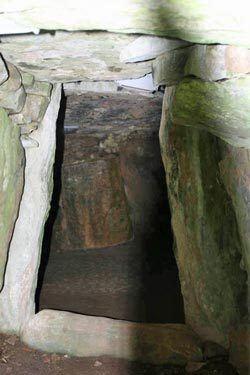 South chamber entrance at Dowth