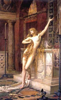 Hypatia by Charles William Mitchell, 1885