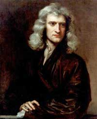 Sir Isaac Newton, painted by Sir Godfrey Kneller